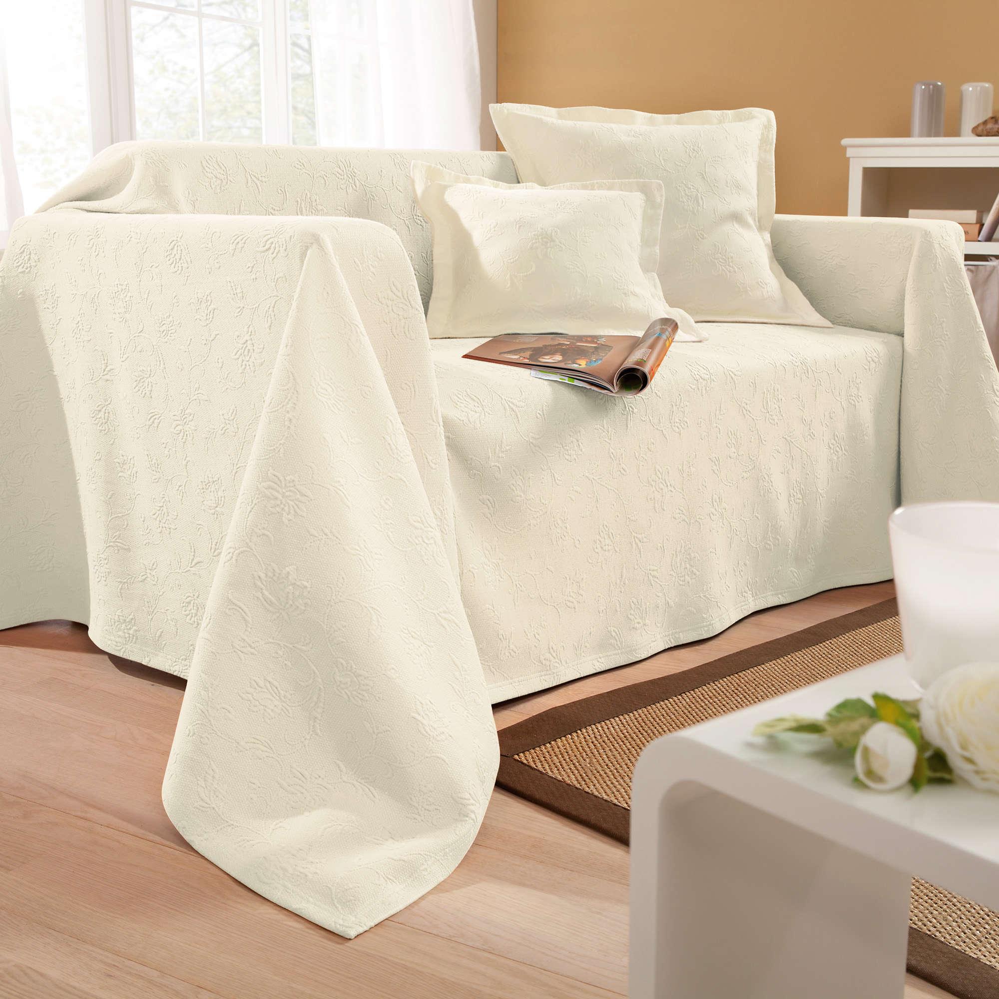 erwin m ller sessel und sofa berwurf ebay. Black Bedroom Furniture Sets. Home Design Ideas