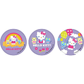 Zoom: Anti-Rutsch-Stopper Hello Kitty im 6er-Pack