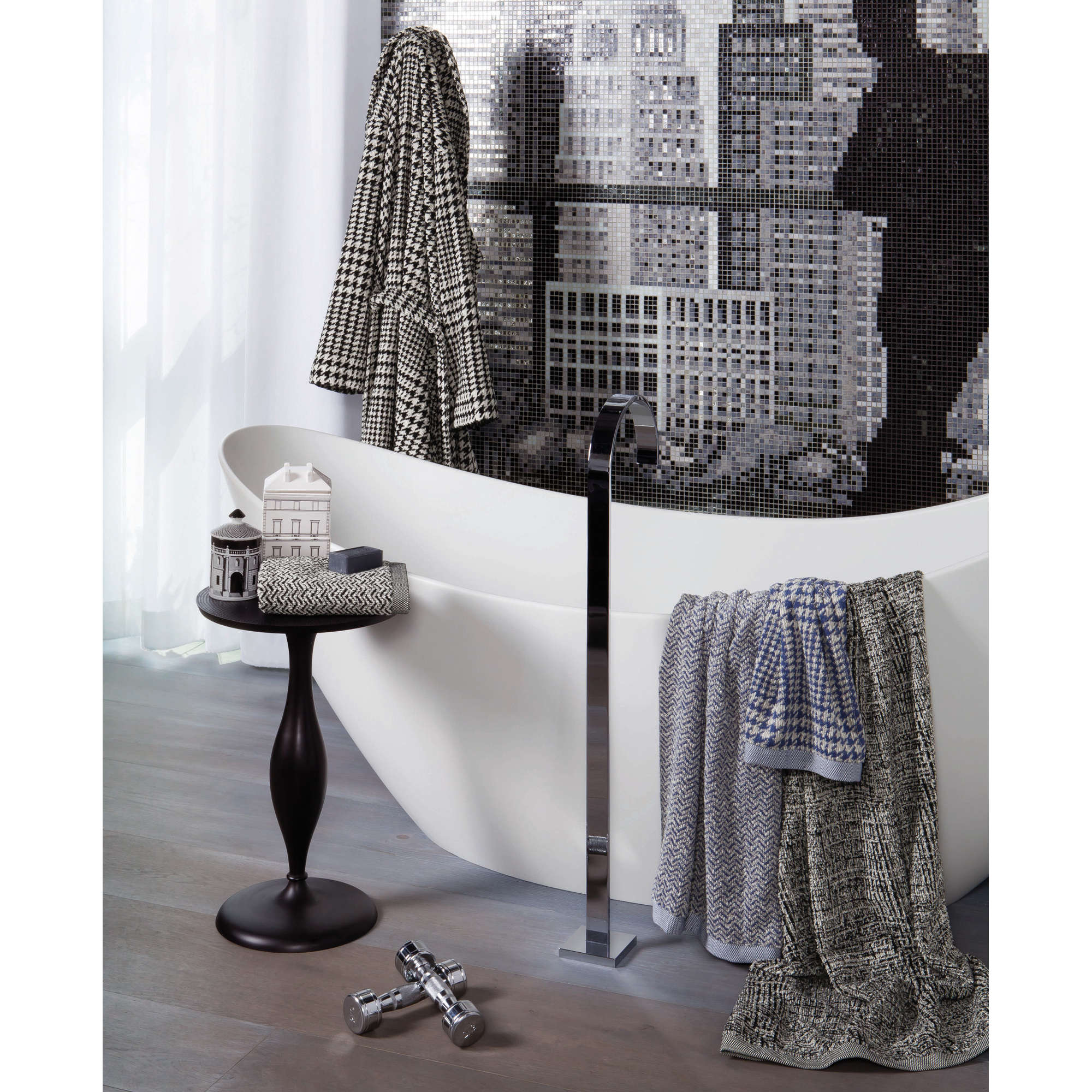 m ve duschtuch jacquard ebay. Black Bedroom Furniture Sets. Home Design Ideas