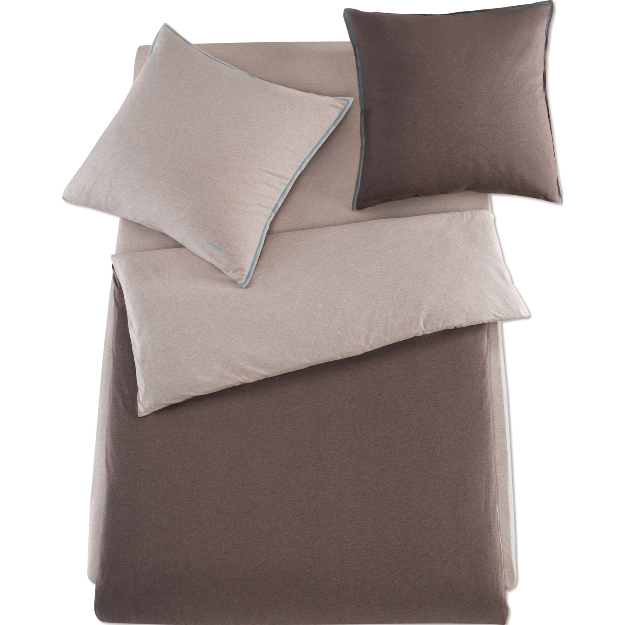 schlafgut bettw sche single jersey ebay. Black Bedroom Furniture Sets. Home Design Ideas