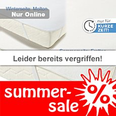 Setex Sommer-/Winter-Matratzen-Fix-Spannauflage