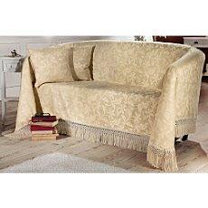 sofa berwurf gelb erwin m ller. Black Bedroom Furniture Sets. Home Design Ideas