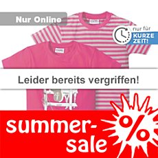 Kinderbutt T-Shirt 2er-Pack Pferd