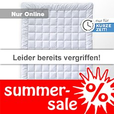 Billerbeck Leicht-Steppbett Wash Cotton