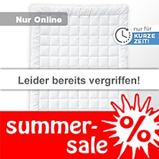 Billerbeck Leicht-Steppbett Sundream Superlight