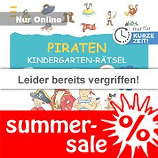 Ars Edition Buch: Kindergarten-R�tsel Piraten