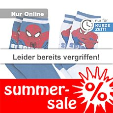 Socken Spiderman im 2er-Pack