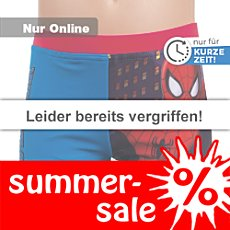 Badeshorts Spiderman