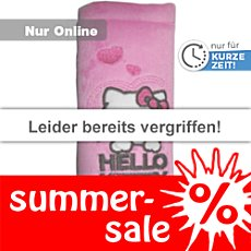 Kaufmann Gurtpolster Hello Kitty