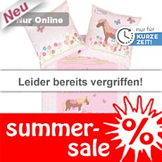 Kinderbutt Renforc� Bettw�sche Pony