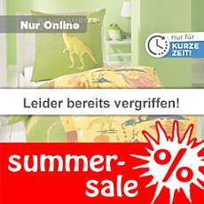Kinderbutt Linon-Bettw�sche