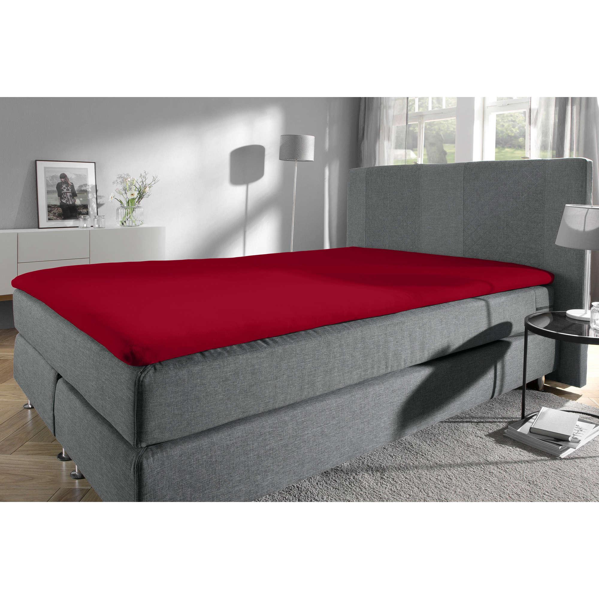 redbest spannbettlaken denver f r topper single jersey ebay. Black Bedroom Furniture Sets. Home Design Ideas