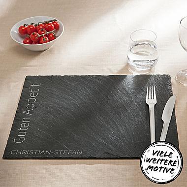 Schiefer Tischset