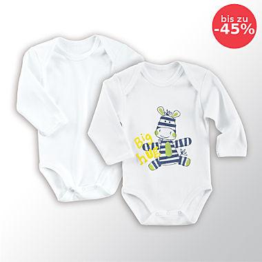 Erwin Müller Baby-Body im 2er-Pack