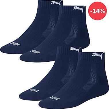 Puma Unisex Quarter-Socken im 2er-Pack