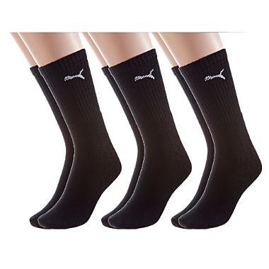 Puma Unisex Sport-Socken im 3er-Pack