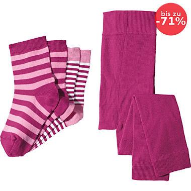 Erwin Müller Kinder-Set 3-teilig: Leggings und 2 Paar Socken