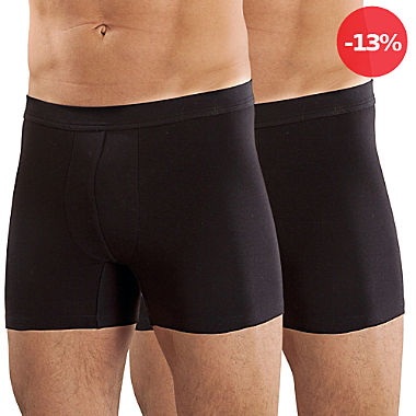 Erwin Müller Single-Jersey Herren-Pants im 2er-Pack