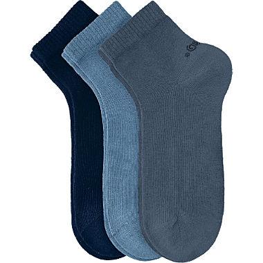s.Oliver Unisex Quarter-Socken im 3er-Pack