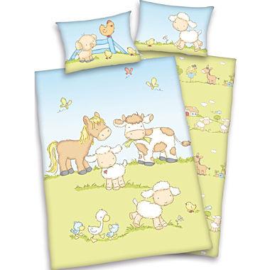 Herding Linon Kinder-Wendebettwäsche