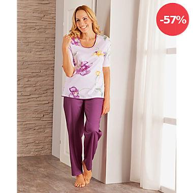 Bleyle Interlock-Jersey Damen-Schlafanzug