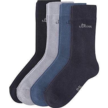 s.Oliver Kinder-Socken im 4er-Pack