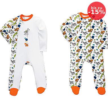 Erwin Müller Baby-Schlafanzug im 2er-Pack
