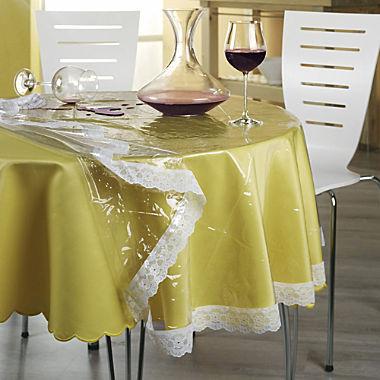 abwaschbare Schutz-Tischdecke