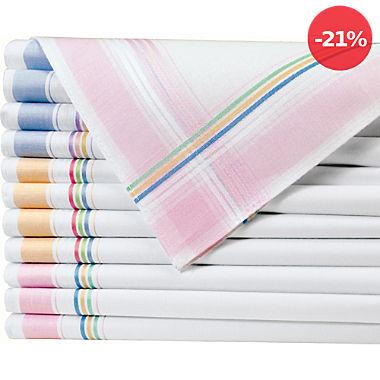 Damen-Taschentücher im 12er-Pack
