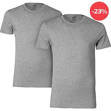 Puma Herren-Unterhemd, 1/2-Arm im 2er-Pack