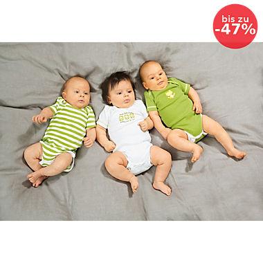 Erwin Müller Interlock-Jersey Baby-Body im 3er-Pack