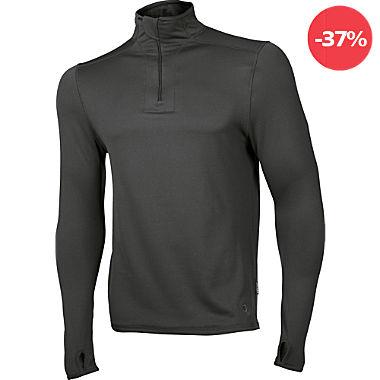 Ceceba Herren-Unterhemd, langarm mit Zipper