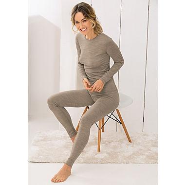 Pompadour Single-Jersey Damen-Unterhose, lang