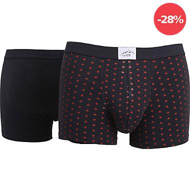 Tom Tailor Single-Jersey Herren-Pants im 2er-Pack