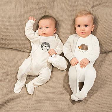 Erwin Müller Interlock-Jersey Baby-Schlafanzug im 2er-Pack