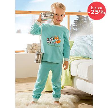 Erwin Müller Interlock-Jersey Kinder-Schlafanzug