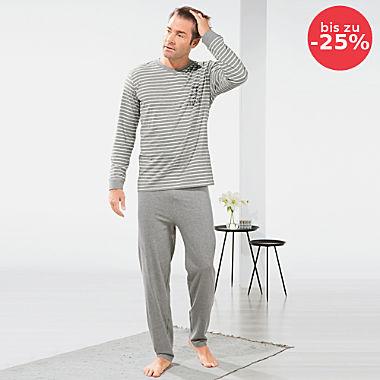 Erwin Müller Single-Jersey Herren-Schlafanzug
