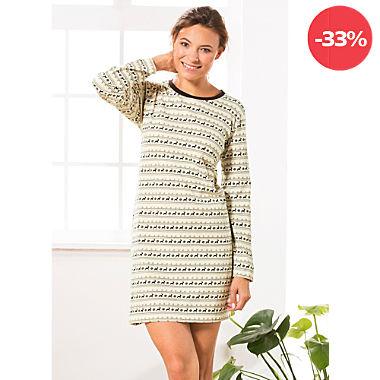 REDBEST Single-Jersey Damen-Nachthemd