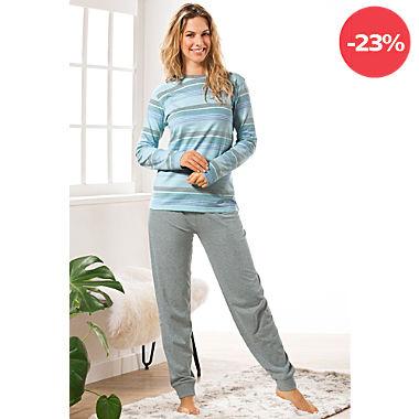 REDBEST Single-Jersey Damen-Schlafanzug