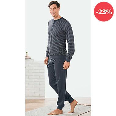REDBEST Single-Jersey Herren-Schlafanzug