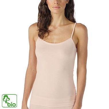Mey Single-Jersey Bio Damen-Unterhemd mit Spaghettiträgern
