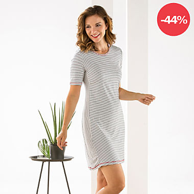 ESPRIT Single-Jersey Damen-Nachthemd