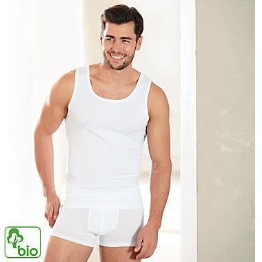 Ammann Single-Jersey Bio Herren-Unterhemd