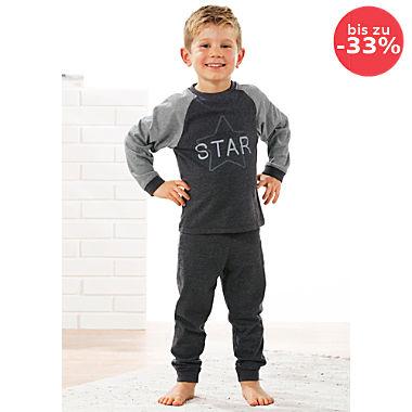 Erwin Müller Single-Jersey Kinder-Schlafanzug