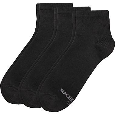 Skechers Herren Quarter-Socken im 3er-Pack