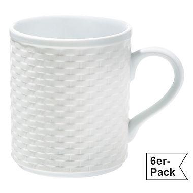 Gepolana Kaffeebecher im 6er-Pack