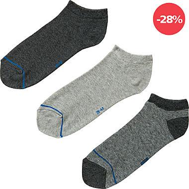 REDBEST Herren-Sneaker-Socken im 3er-Pack