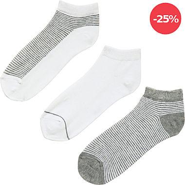 REDBEST Damen-Sneaker-Socken im 3er-Pack
