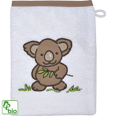 Wörner Walk-Frottier Bio Kinder-Waschhandschuh