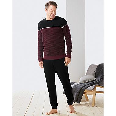 Schiesser Frottee Herren-Schlafanzug